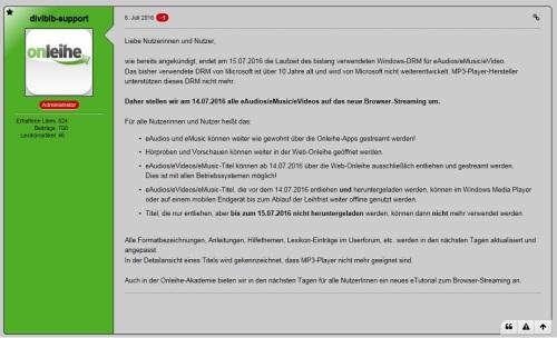http://www.userforum.onleihe.de/index.php/Thread/10789-Weitere-Nutzung-von-eAudios-eMusic-und-eVideos-nach-dem-15-07-2016/?postID=42329#post42329